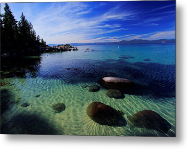 Welcome To Bliss Beach Metal Print