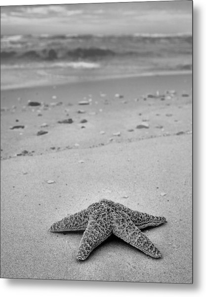 Welcome To Destin Bw Metal Print by JC Findley