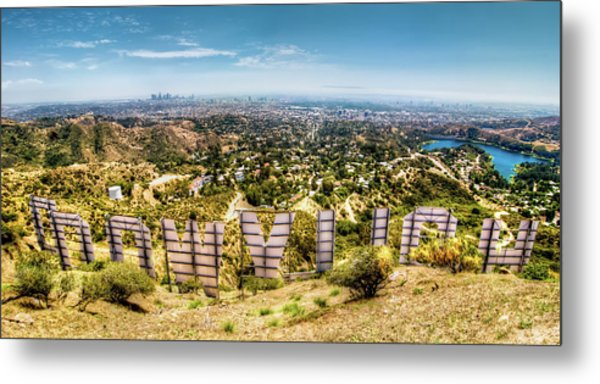 Welcome To Hollywood Metal Print