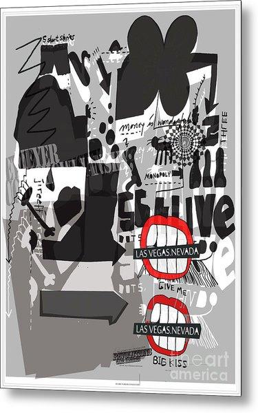 Welcome To Las Vegas Nevada    Fine Art Print  Metal Print by Weiler WEILER