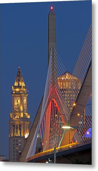 Welcome To The Great City Of Boston Metal Print