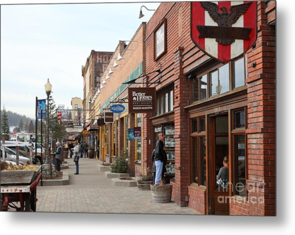 Welcome To Truckee California 5d27445 Metal Print by Wingsdomain Art and Photography
