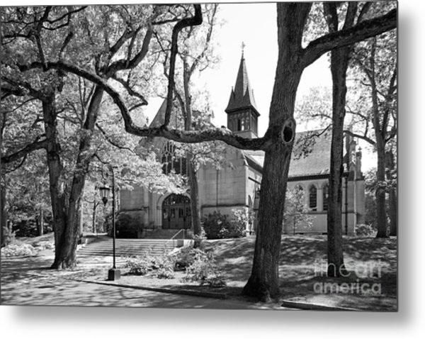 Wellesley College Houghton Chapel Metal Print by University Icons