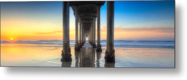 West Coast Tranquillity Metal Print