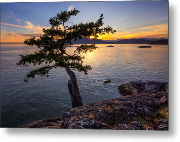 West From Juniper Point Metal Print