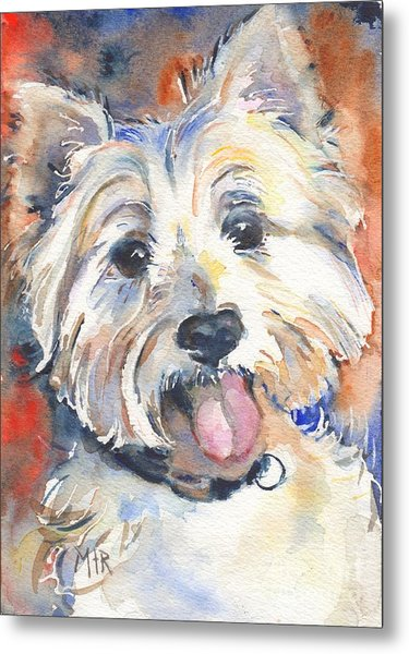 West Highland Terrier Metal Print