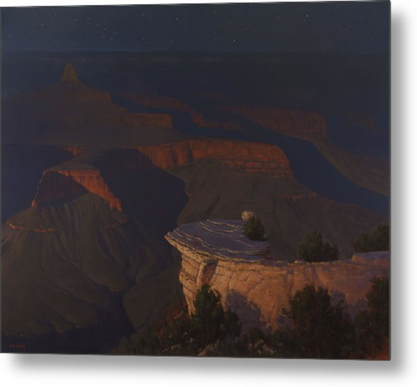 West Moon Grand Canyon Metal Print