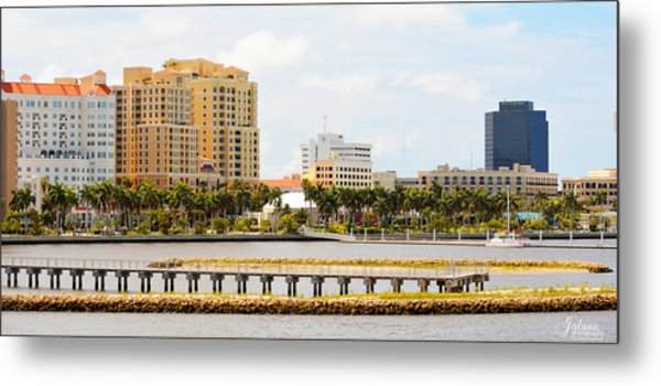 West Palm Beach Metal Print