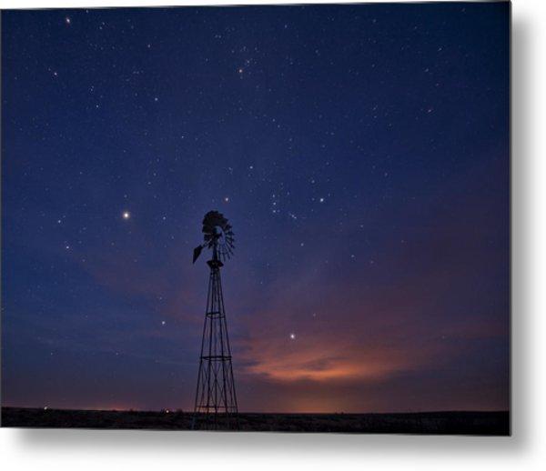 West Texas Sky Metal Print