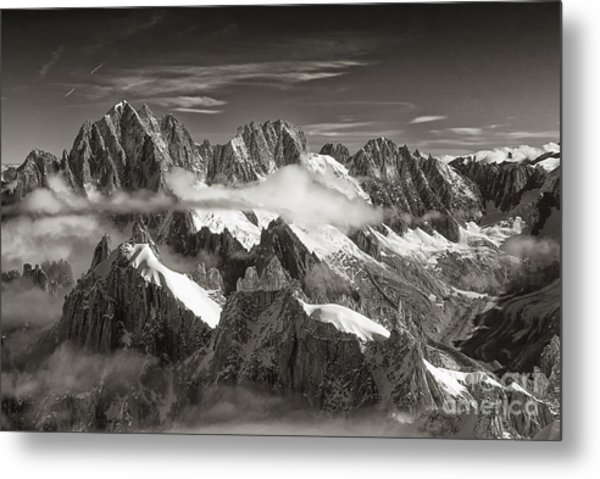 Western Alps - Panorama Metal Print