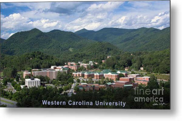 Western Carolina University Summer Metal Print