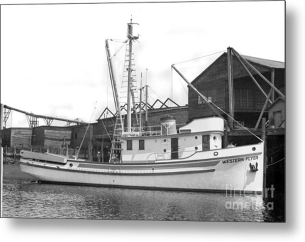 Western Flyer Purse Seiner Tacoma Washington State March 1937 Metal Print