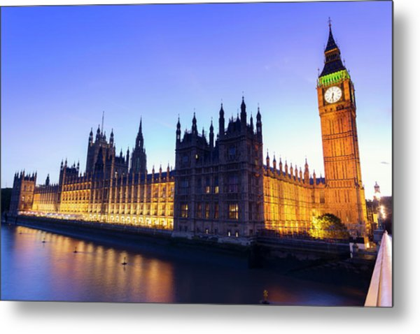 Westminster Palace Metal Print by  Ultraforma