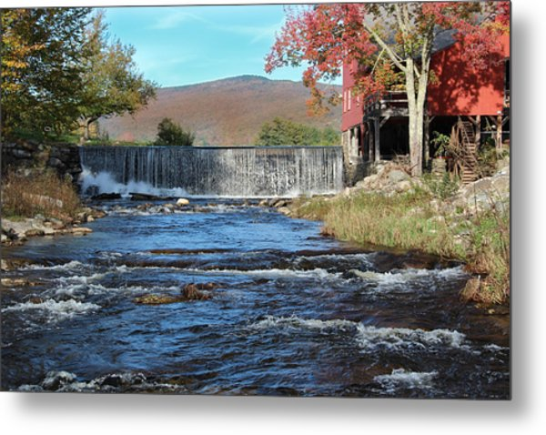 Weston Mill And River Metal Print