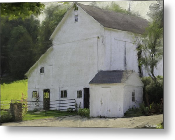 Westport Barn Metal Print