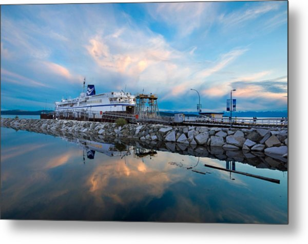 Westview Blue Hour Metal Print