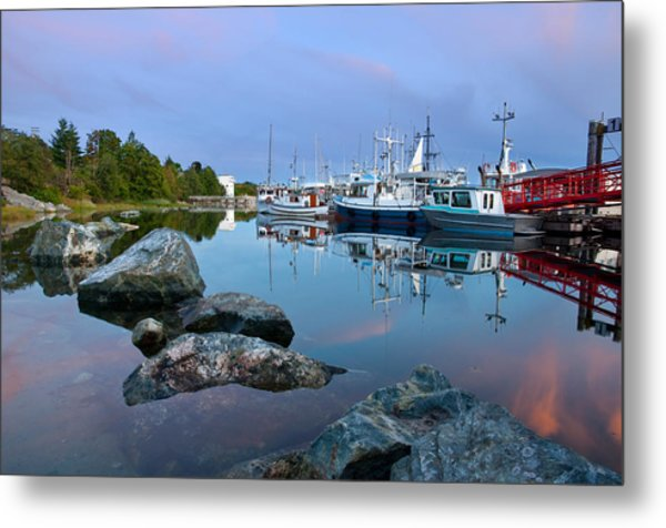 Westview Harbor Metal Print