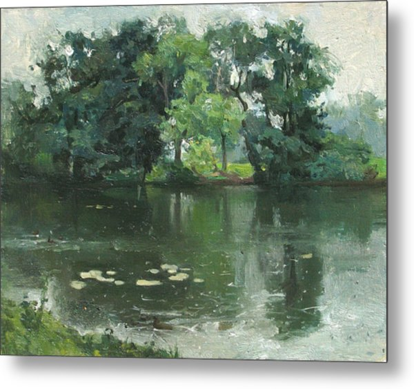 Wet Day Metal Print