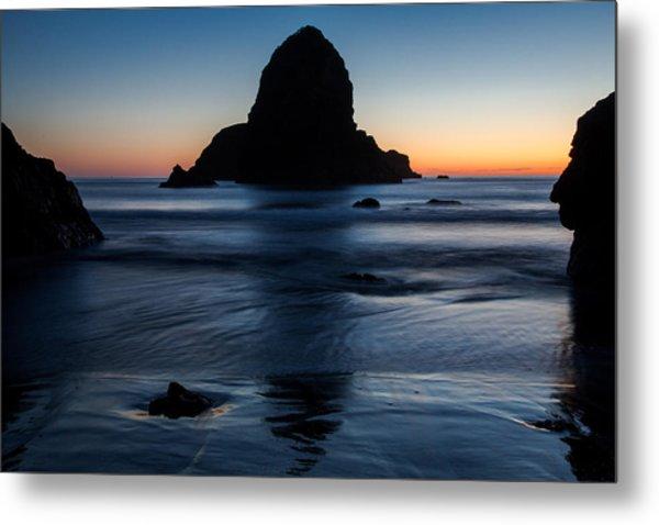 Whaleshead Beach Sunset Metal Print