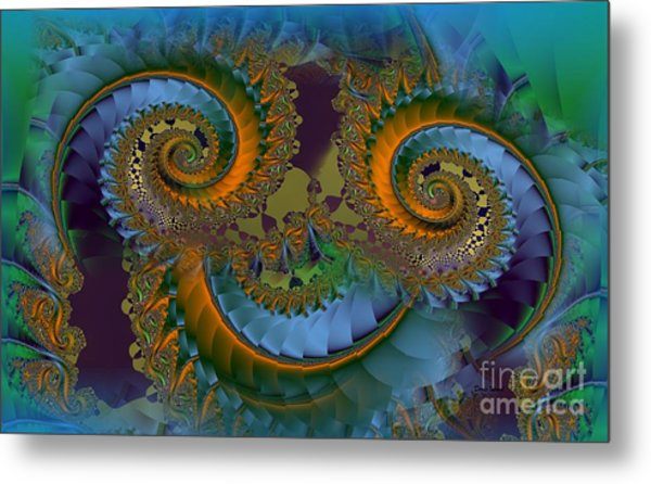 What Big Eyes You Have Metal Print by Doris Wood