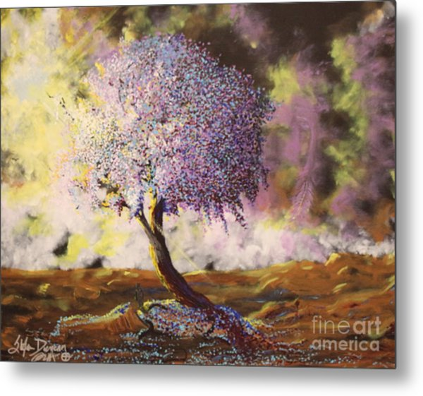 What Dreams May Come Spirit Tree Metal Print