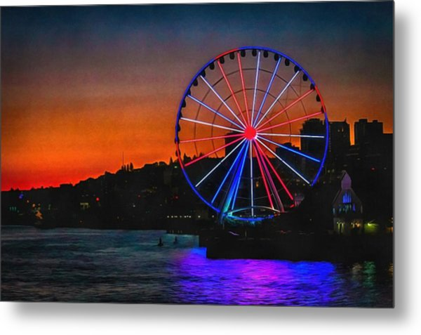 What Goes Up Metal Print by CarolLMiller Photography
