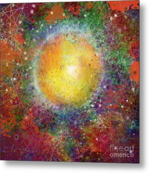 What Kind Of Sun Viii Metal Print