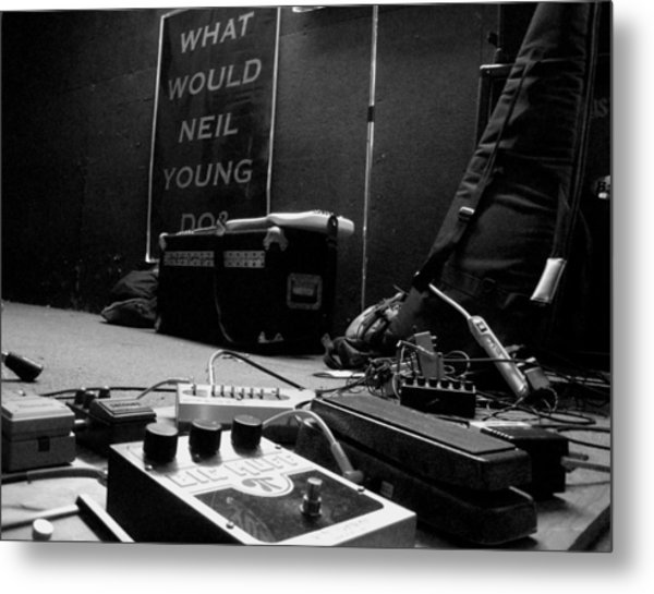 What Would Neil Young Do? Metal Print