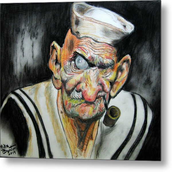 Whatever Happend To Popeye? Metal Print