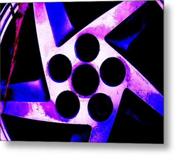 Wheel Of Color Metal Print