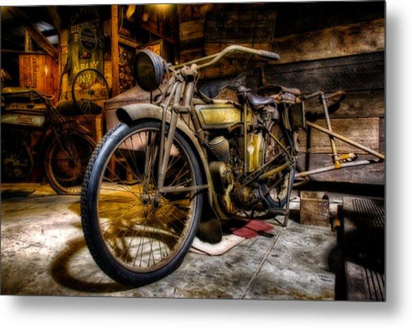 Wheels Through Time 7 Metal Print