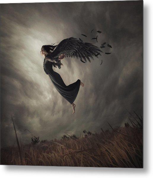 When The Angel Falls Metal Print