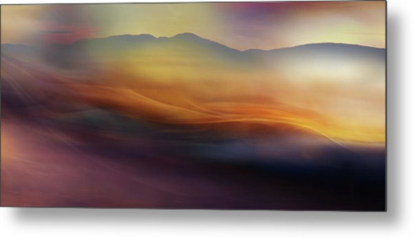 When The Morning Wakes Ll Metal Print