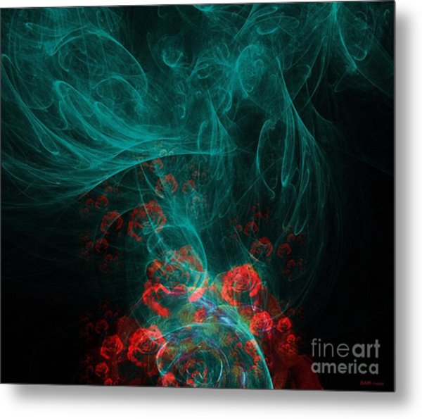 When The Smoke Clears They Bloom Metal Print