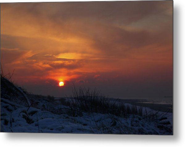 When The Sun Goes Down  Metal Print
