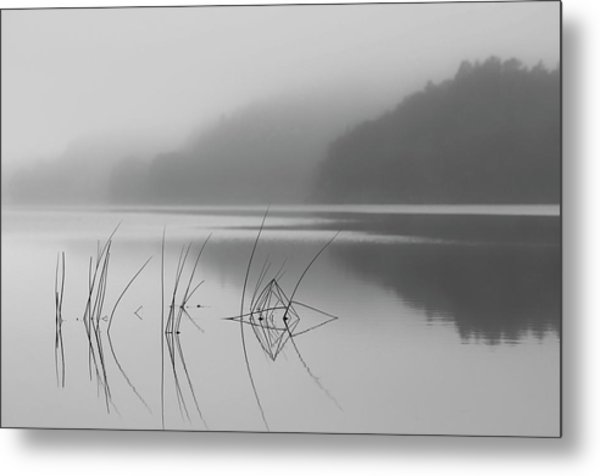 When You Can Hear The Silence Metal Print