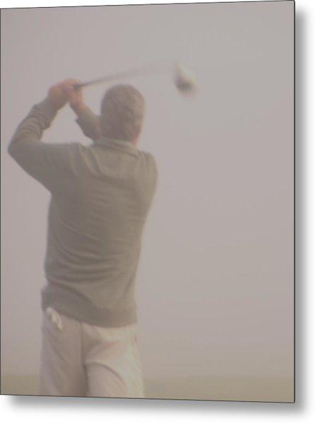 Where Did My Golf Ball Go Metal Print