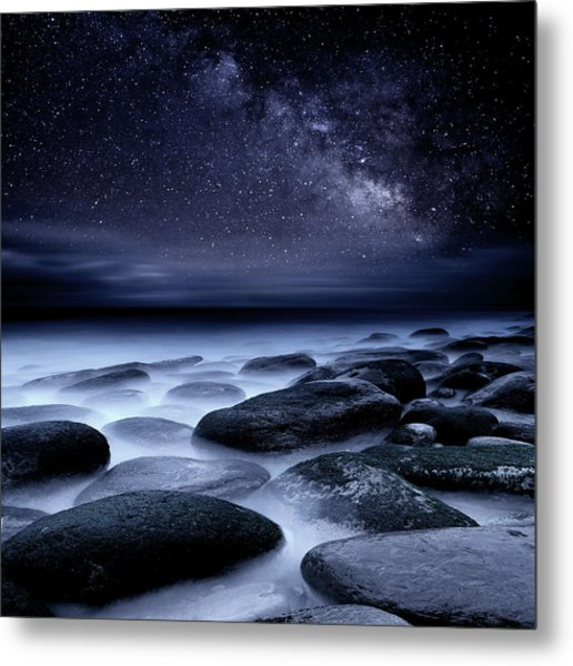 Where No One Has Gone Before Metal Print