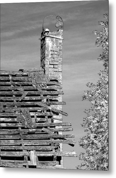 Where Once There Was Warmth Metal Print
