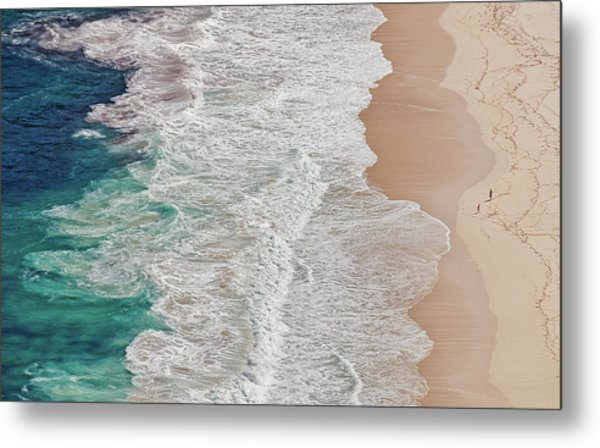 Where The Ocean Ends... Metal Print