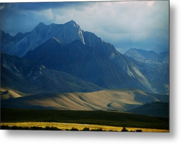 Where The West Commences Metal Print