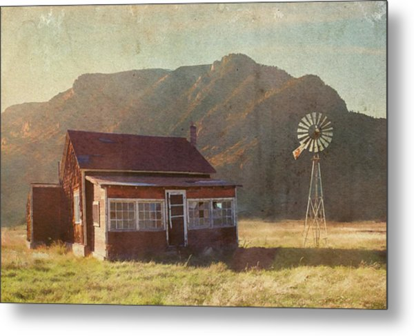 Where Time May Forget Me Metal Print