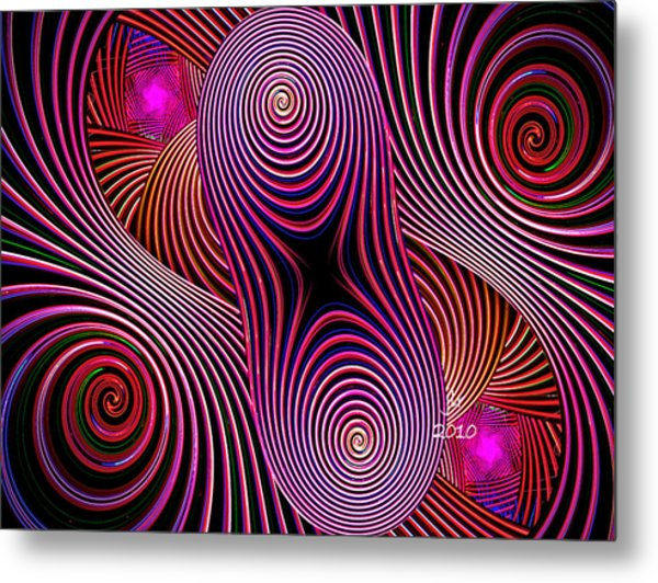 Where's Godot Metal Print by Janet Russell
