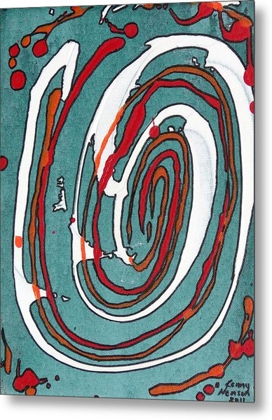 Whirl 2 Metal Print