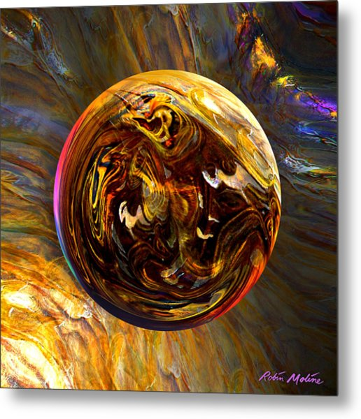 Whirling Wood  Metal Print
