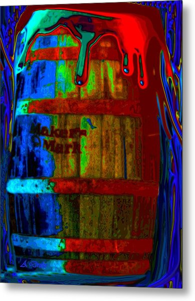 Whiskey A Go Go Metal Print