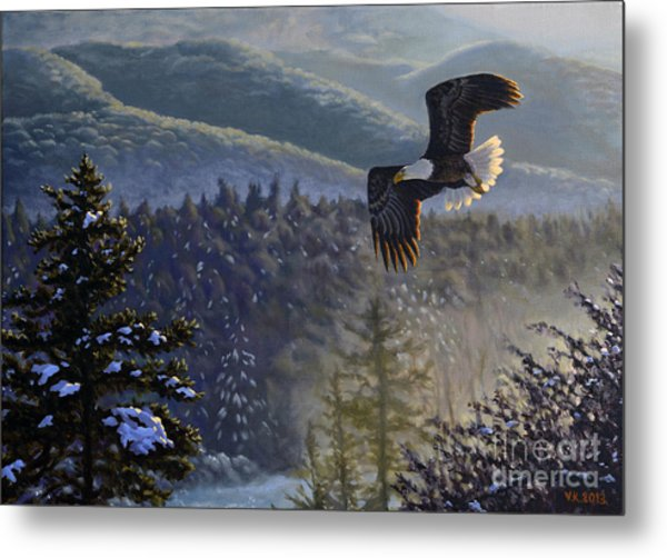 Whisper From The Valley Metal Print
