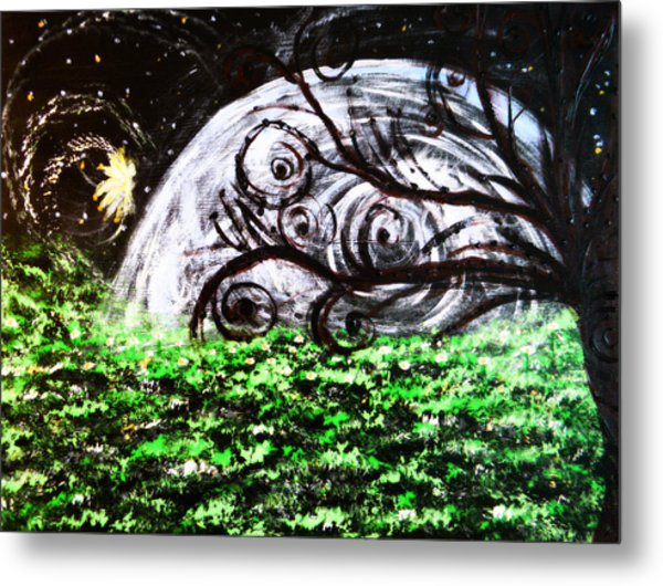 Whispering Fairytales Metal Print
