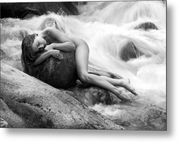 Whispering Of The River Metal Print by Bruno Birkhofer