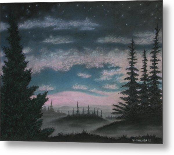 Whispering Pines 02 Metal Print